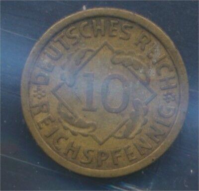 Deutsches Reich Jägernr: 317 1930 J sehr schön 1930 10 Reichspfennig (7879708