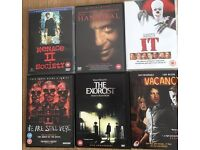 6 horror scary movies includes the clown movie IT 3 hours