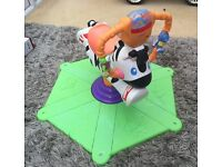 Fisher Price - Children's Bouncing & Spin Zebra