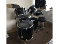 GEAR4MUSIC Full Size Drum Kit
