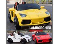 Lamborgini Stlye in Red, Yellow, White Free NumberPlate