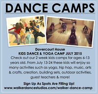 Walker Dance Camp -Kids Dance & Yoga/ July 13-24, 2015