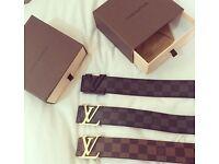 Brand New Boxed Louis Vuitton Belts