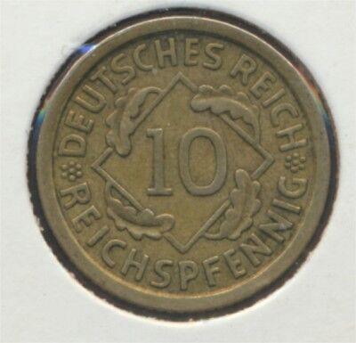 Deutsches Reich Jägernr: 317 1930 F vorzüglich 1930 10 Reichspfennig (7869097