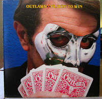 The OUTLAWS Vinyl Record Album - Like New