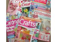 Craft and Card Making Magazines