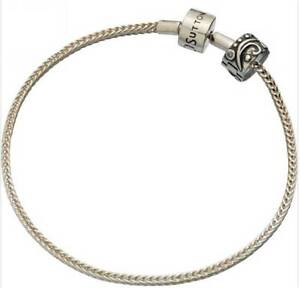 Genuine New 925 Sterling Silver Rhona Sutton Charm Bead Bracelet