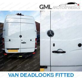 Van Slam Locks, Dead Locks, Slamlocks, Deadlocks Fitted Van Security FORD VAUXHALL MERCEDES VW