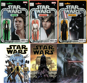 STAR WARS - ACTION FIGURE VARIANT COVER comic books