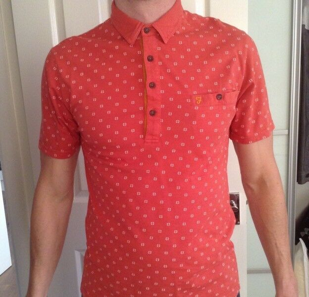 Men's Farah Vintage Polo Shirt