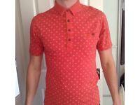 Men's Farah Vintage Polo Shirt