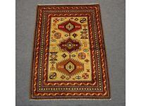 beautiful handmade vintage afghan tribal rug