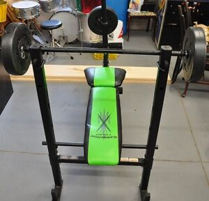 Competitor Weight Training Bench