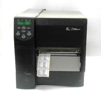 ZEBRA THERMAL TRANSFER BARCODE LABEL PRINTER Z6M00-3001-0000 for sale  Shipping to India