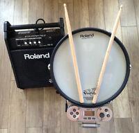 Percussion, snare RMP12 Roland