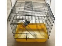 2x HAMSTER CAGE AND LOTS OF ACCESSORIES