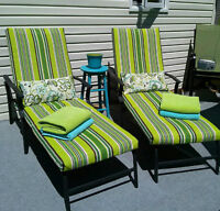 PATIO CUSHION RECOVERING - Give New Life to your Patio Set