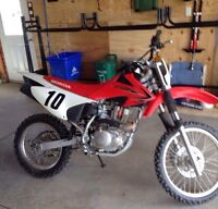 CRF150F 2011 Electric Start