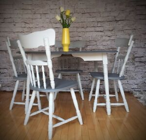 Solid wood table / extandable