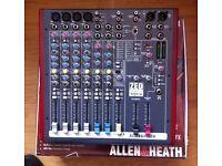 Allen and Heath zed60 10fx mixer audio interface