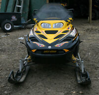 FOR SALE 2002 Ski Doo Summit 800 Excellent Cond.