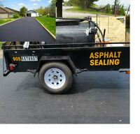 DRIVEWAY, SEALING, (ASPHALT SEALING)DRIVEWAYS MADE NEW AGAIN,