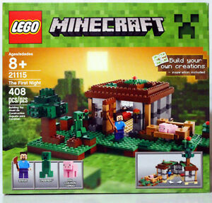 NEW LEGO MINECRAFT - THE FIRST NIGHT - SET 21115 - SEALED