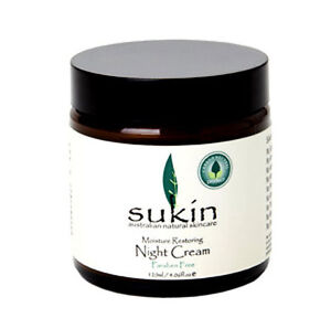 New-120ml-Sukin-Night-Cream-Moisture-Restoring-Deep-Cleanser-Soothing-Skin-Care