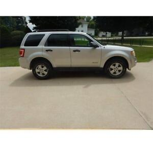 2008 Ford Escape 4x4 Saftied & Etested Electric Start