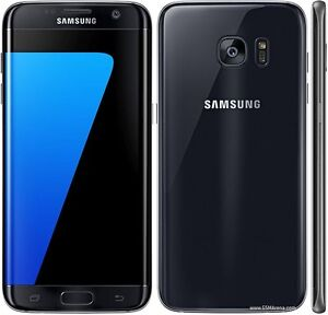 Samsung S7 edge black new