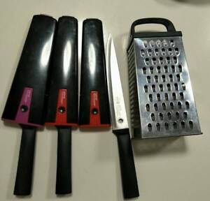 quick sale:three Wiltshire knives and scraper Kelvin Grove Brisbane North West Preview