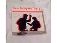 MEN BEHAVING BADLY THE GAME. 1990s RETRO BOARD GAME BASED ON THE TV SHOW.