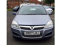 Vauxhall Astra Life 2007 1.8 Low Mileage.