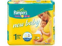 Nappies Pambers newborn size 1