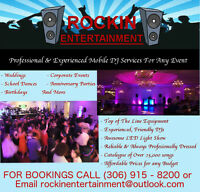 Professional, Affordable, Experienced DJ Services For Any Event