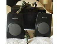 Microsoft digital pc speakers