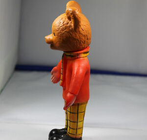 Vintage Rupert The Bear TV collectable plastic 1960-70s bear Kingston Kingston Area image 7