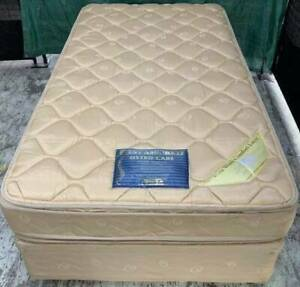 Excellent King single bed set  (double-sided Pillow Top mattress)