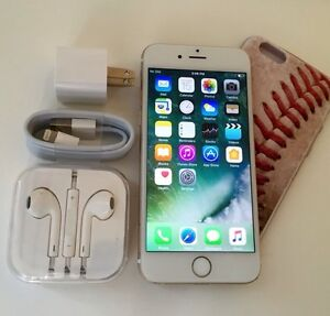 iPhone 6 Gold with all accessories