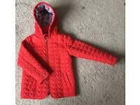 Girls M&S coat age 4-5