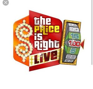 THE PRICE IS RIGHT LIVE! 2-4 tickets available