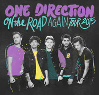 **REDUCED!!! ONE DIRECTION 2015 TOUR TICKETS