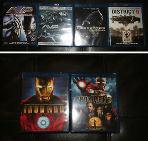 Collection de films Blu Ray / Blu ray movie collection West Island Greater Montréal image 2