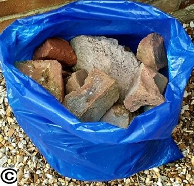 100 HEAVY DUTY BLUE RUBBLE SACKS BUILDERS BAGS