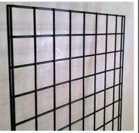 Wanted one or two 2x6 black grid wall panels