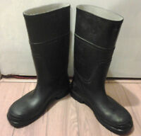 "Assorted ""Steel(Soft)-Toe Rubber Boots(size 8-12)"" for Sale"