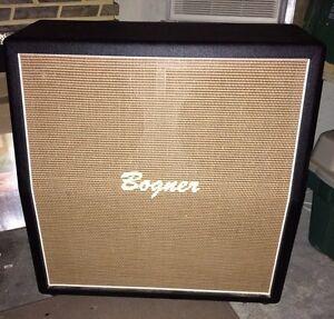 Bogner 4x12 Slant Guitar Cabinet