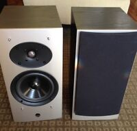 ATHENA TECHNOLOGIES AS-B2 BOOK SHELF SPEAKERS