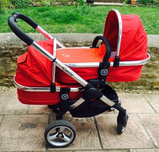 Icandy Double Stroller Car Seat