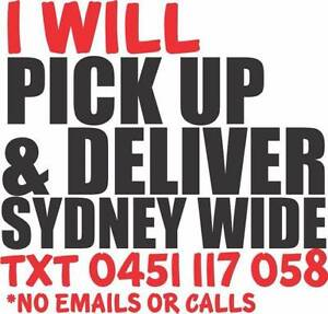INNER SYDNEY REMOVALIST - PURCHASES PICKED UP DELIVERED REMOVALS Stanmore Marrickville Area Preview